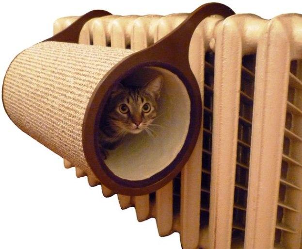 использование кошек для промывки отопительных систем в домашних условиях